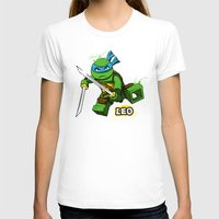 leo T-shirts featuring Leo by le.duc
