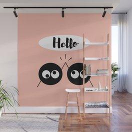 Hello Wall Mural