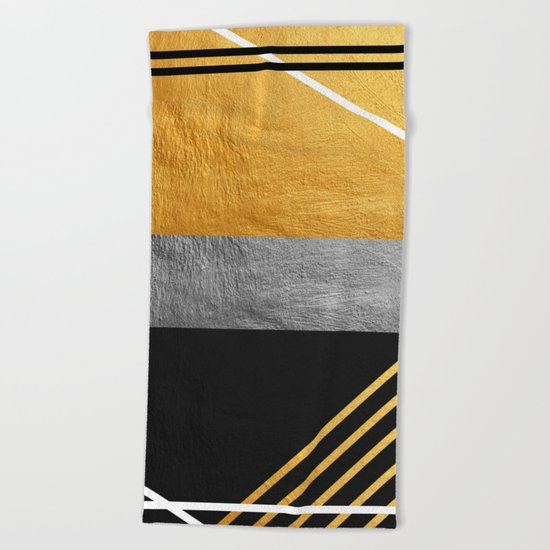 Minimal Complexity Beach Towel