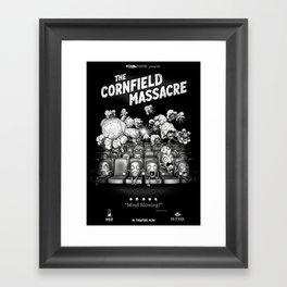 The Cornfield Massacre Framed Art Print