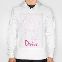 drive Hoodies featuring Drive by Matthew Bartlett