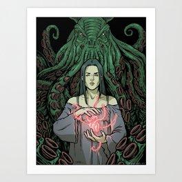 Lovecraft - 01 Art Print