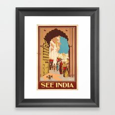 See India Framed Art Print