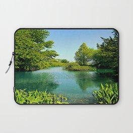Aqua Lake Laptop Sleeve