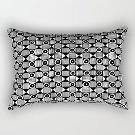 Lion Face Pattern Rectangular Pillow