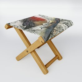 Just Be: Robin Red-Breast Folding Stool