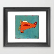 Air-Plane Framed Art Print