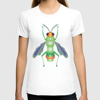 bug T-shirts featuring Bug by MinaSparklina