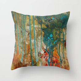 The Canyon Series (Whole Piece) Throw Pillow