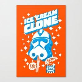 Ice Cream Clone Canvas Print