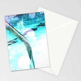 swim pool Stationery Cards