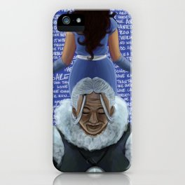 the dog days are over iPhone Case