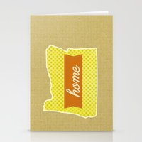 oregon Stationery Cards featuring Oregon by Embellished Key