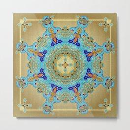 Mix&Match Byzantine Mosaic 01 Metal Print