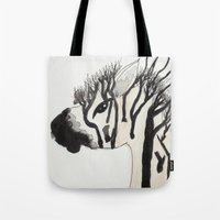 my little pony Tote Bags featuring My Little Pony by Autumn Steam