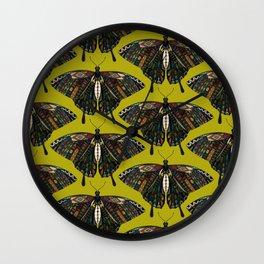 swallowtail butterfly citron Wall Clock