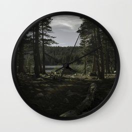 Good Morning Forest Wall Clock