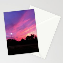 Angels in the Outfield Sunset Stationery Cards