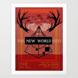 Illuminati Invite Art Print