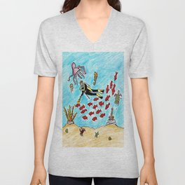 So Much To Sea Unisex V-Neck
