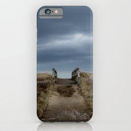 Melmerby Beach Boardwalk iPhone Case