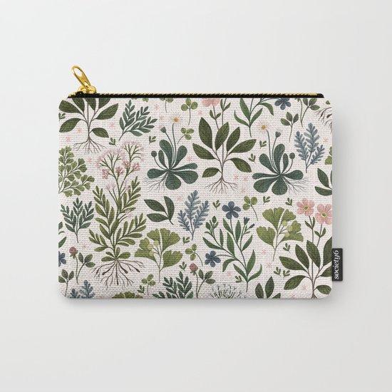 Herbarium ~ vintage inspired botanical art print ~ white by izptica