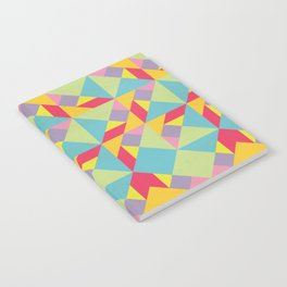 Colorful Tangram Pattern Notebook