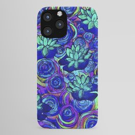 Blue Lily Pond  iPhone Case