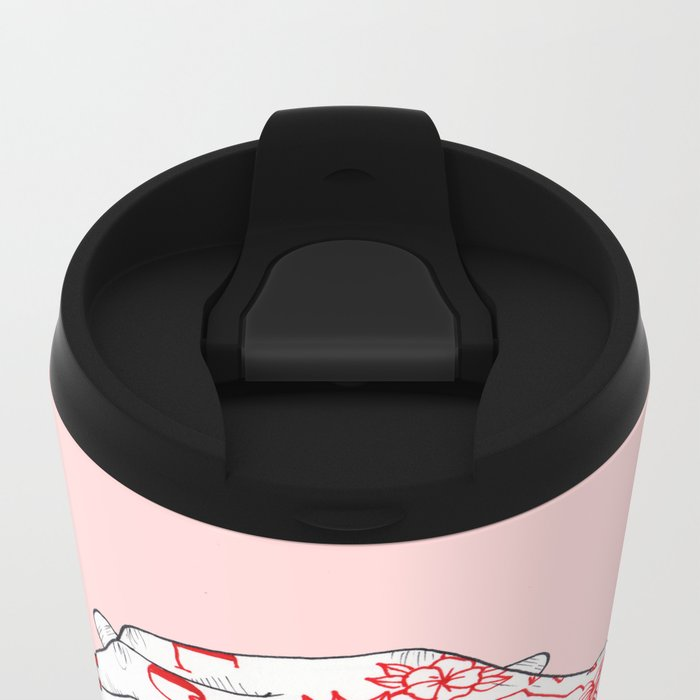Pop'n'Lock Metal Travel Mug