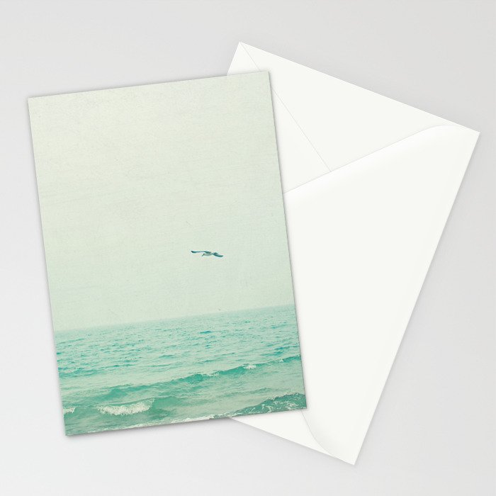 Lone Bird Stationery Cards