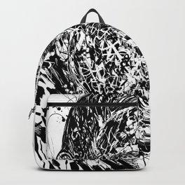 GERTRUDE STEIN ink portrait Backpack