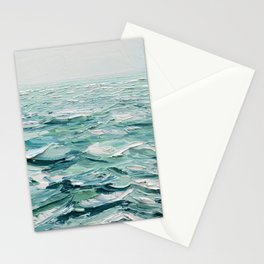 Minty Seas Stationery Cards