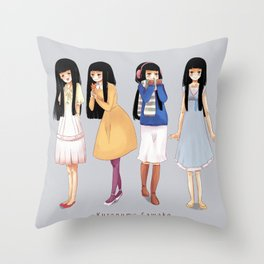 Sawako Throw Pillow
