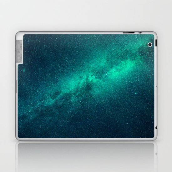 galaxy lights laptop skins
