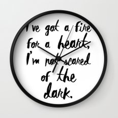 One Direction // Drag me down lyrics Wall Clock