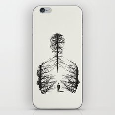 The Walk  iPhone & iPod Skin