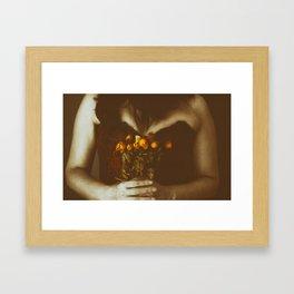 Sin flores para ti IV Framed Art Print