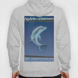 Explore the Wilderness! Dolphin Hoody