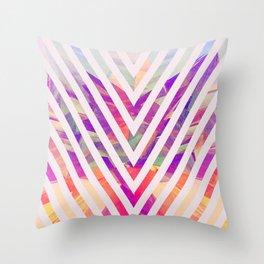 CF V Throw Pillow