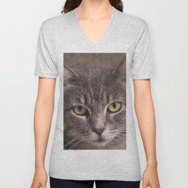 Kitty Kat Unisex V-Neck