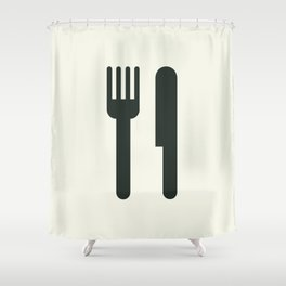 Food Shower Curtain