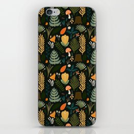 FOREST PATTERN iPhone Skin