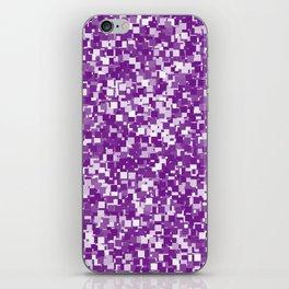 Winterberry Pixels iPhone Skin