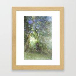 in Angel's Garden Framed Art Print