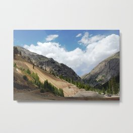 View North from the Eureka Mine, on the Alpine Loop Metal Print