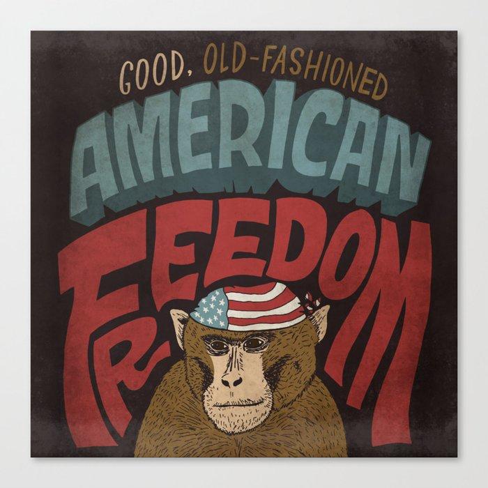 American Freedom Canvas Print