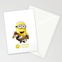 MasterGuide Minion Stationery Cards
