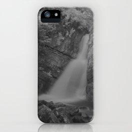 La Mina Falls IR iPhone Case