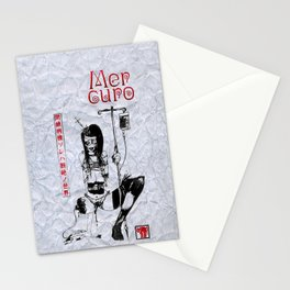 Mercuro 閉鎖病棟 Poster Stationery Cards