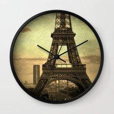 Mon Paris - La Tour Eiffel Wall Clock